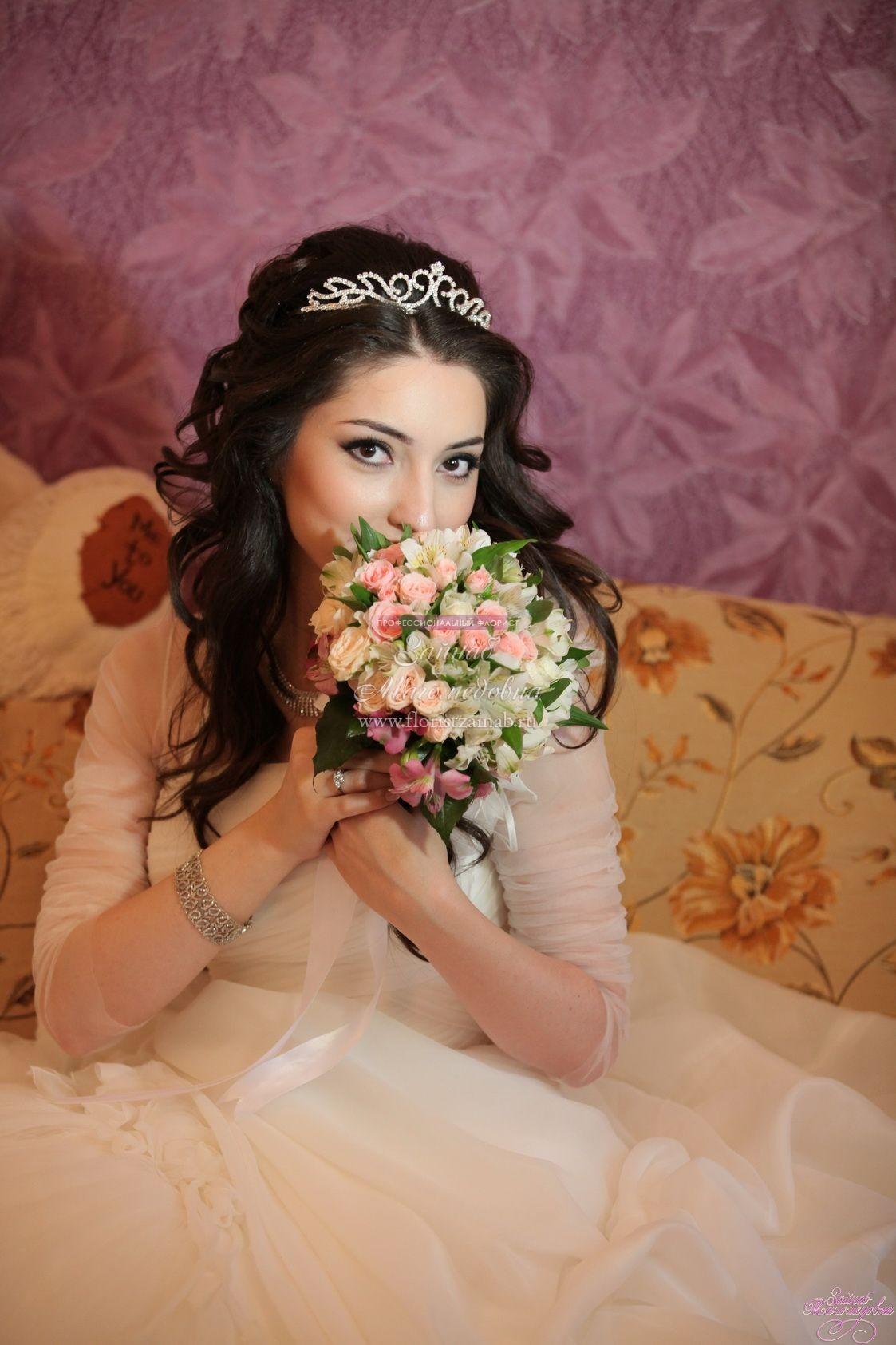 Причёски для невесты в дагестане